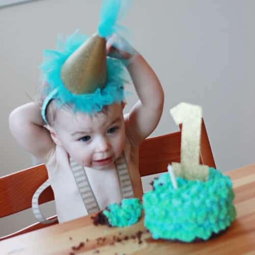 how to make a babys first birthday hat