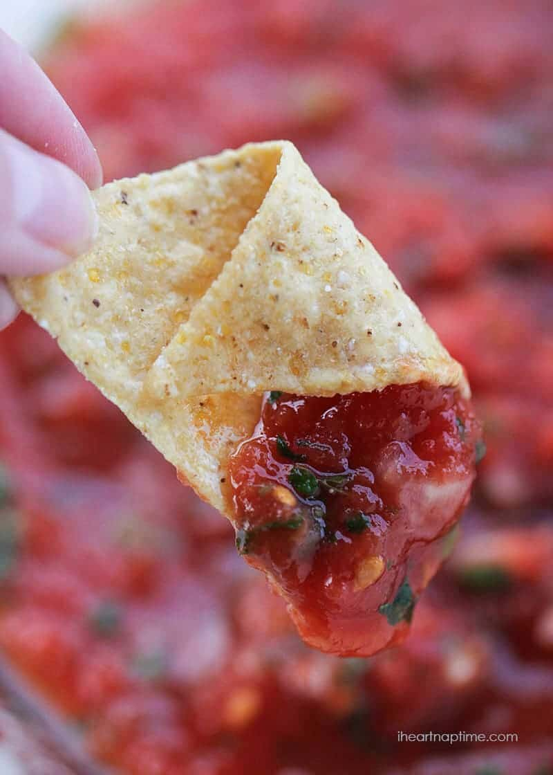 Restaurant style salsa... the best out there!