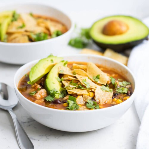 Easy One Pot Chicken Tortilla Soup Recipe I Heart Naptime
