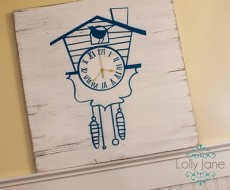 Cuckoo Clock by Lolly Jane