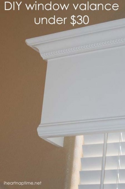 DIY Window Valance copy