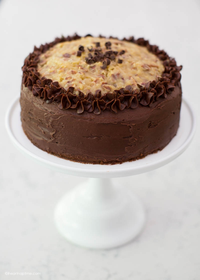 German Chocolate Cake - I Heart Nap Time