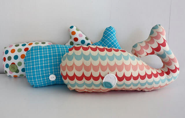 Make a whale softie - I Heart Nap Time
