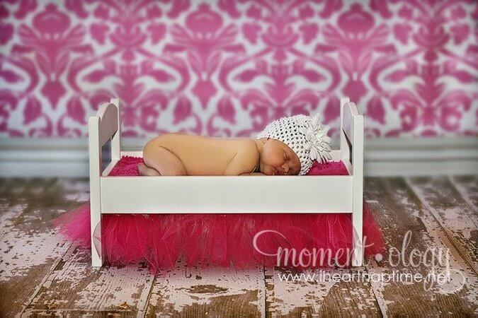 new born photo props