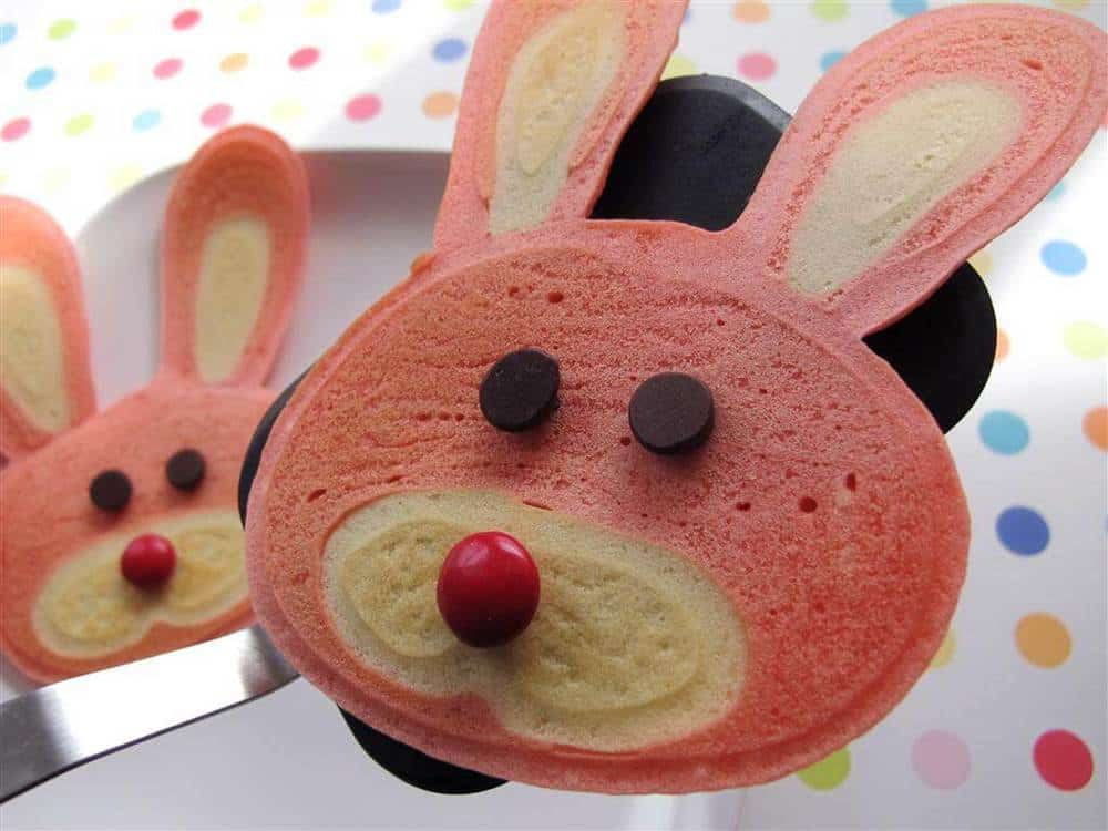 Bunny Pancakes | Easy Easter Recipes You'll Crave All Year Round