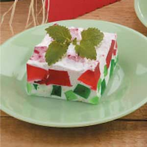 "Watermelon Gelatin Dessert + 25 Mouth-Watering Watermelon Desserts...the perfect refreshment that shouts, ""Summertime is here!"""