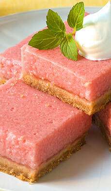 "Dessert Watermelon Bars + 25 Mouth-Watering Watermelon Desserts...the perfect refreshment that shouts, ""Summertime is here!"""