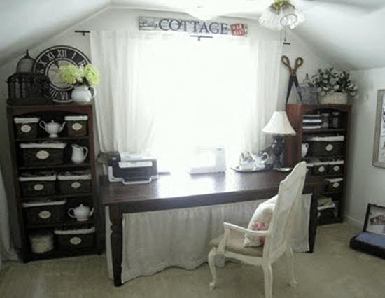 cottage craft room