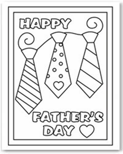 fathers day coloring pages activity - photo#20