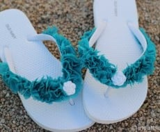 make your own flip flops