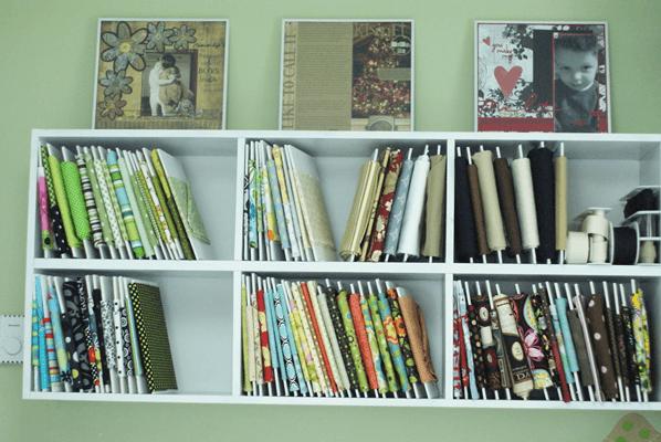 organizing a craft room