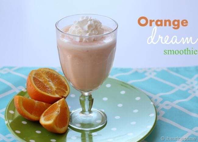 delicious orange smoothie recipe