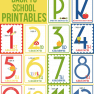 FREE Back to School Printables (K-12)