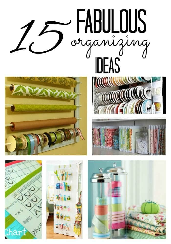 Organization ideas i heart nap time for Diy organization crafts