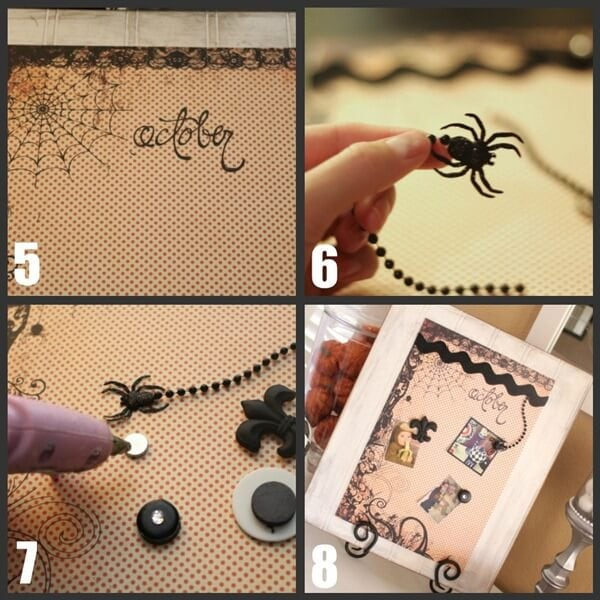 Craft a Halloween Magnet Board