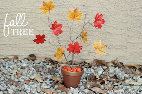 How to make an easy fall floral centerpiece tutorial