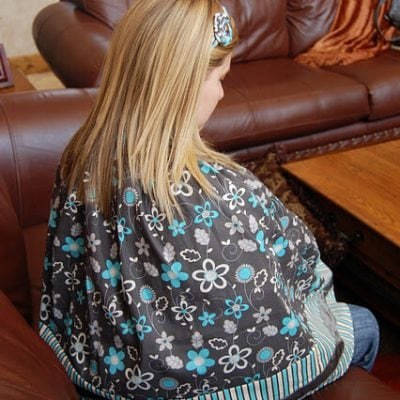 make a nursing cover