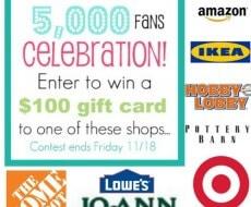 5000 fan giveaway