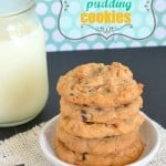 Butterscotch Pudding #Cookies
