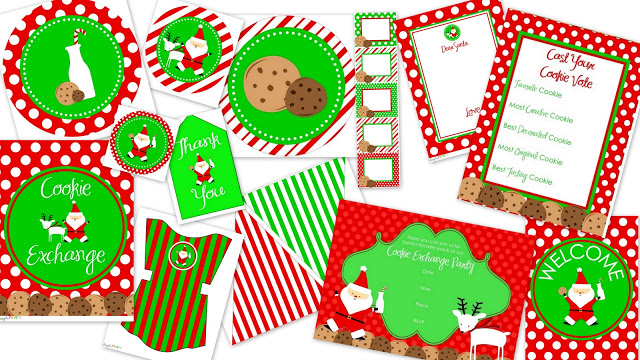 Host A Cookie Swap Download Your Printables