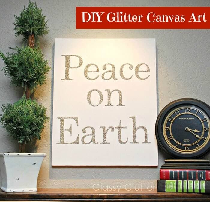 101 inexpensive handmade christmas gifts i heart nap time 101 inexpensive handmade christmas gifts on iheartnaptime diy glitter canvas art solutioingenieria Images