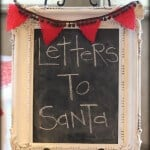 Frosted tree branch tutorials + letters to santa printable