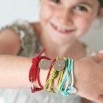 Stamped Friendship #Bracelets #tutorial