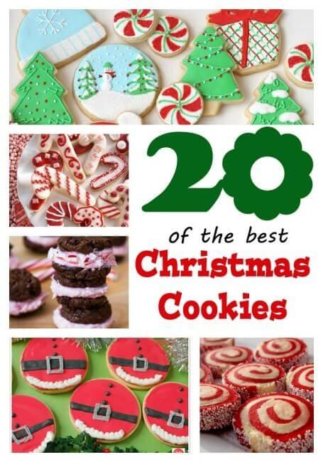 20 Best #Christmas Cookies on iheartnaptime.net