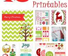 Free #Christmas Printables on iheartnaptime.net