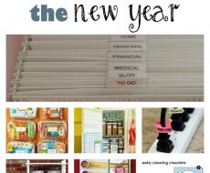 #Tips to help you organize the new year on iheartnaptime.net