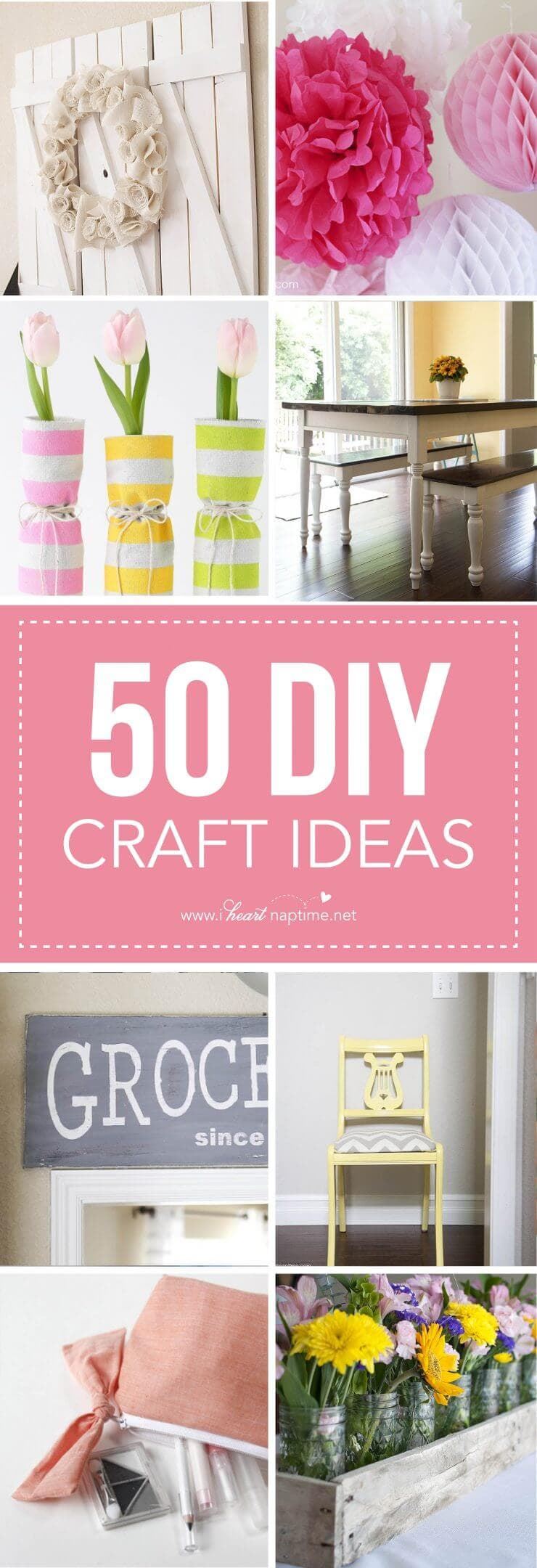 50 DIY craft ideas