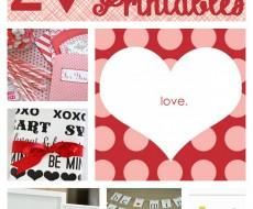 20 Free #Valentines #Printables