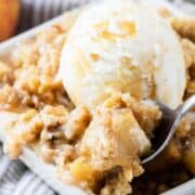 apple crisp topping
