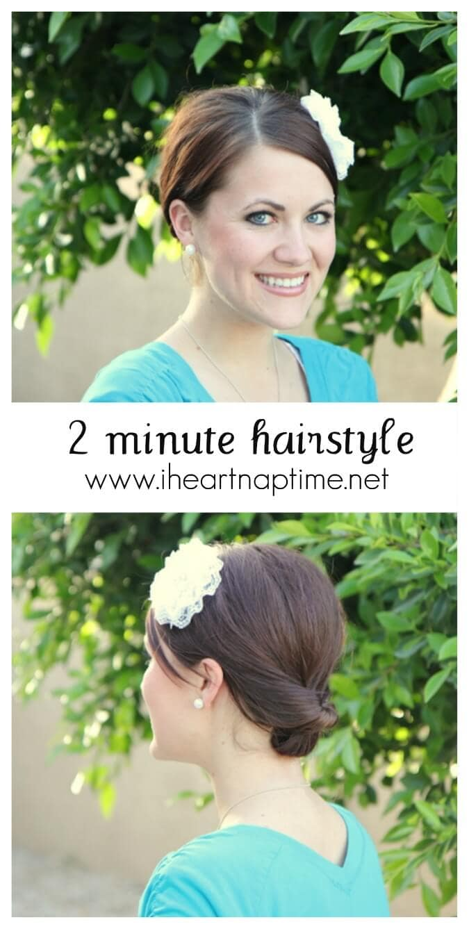 Super cute and easy hairstyle - I Heart Nap Time