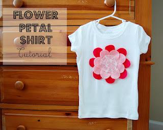 Flower petal shirt-5