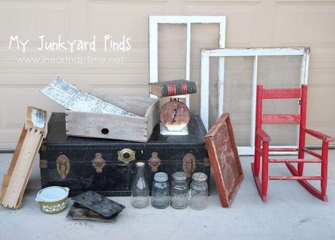 junk yard finds