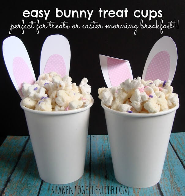 easy bunny treat cups