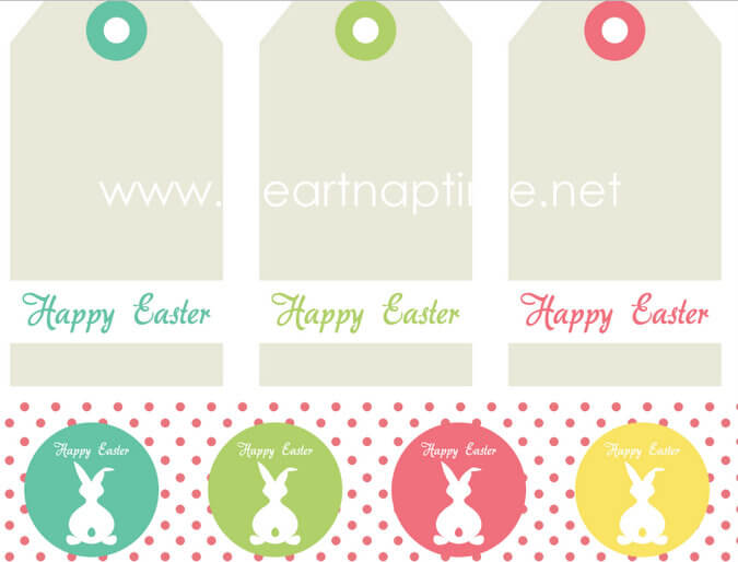 Easter tag free printable i heart nap time free easter printable tags negle Images