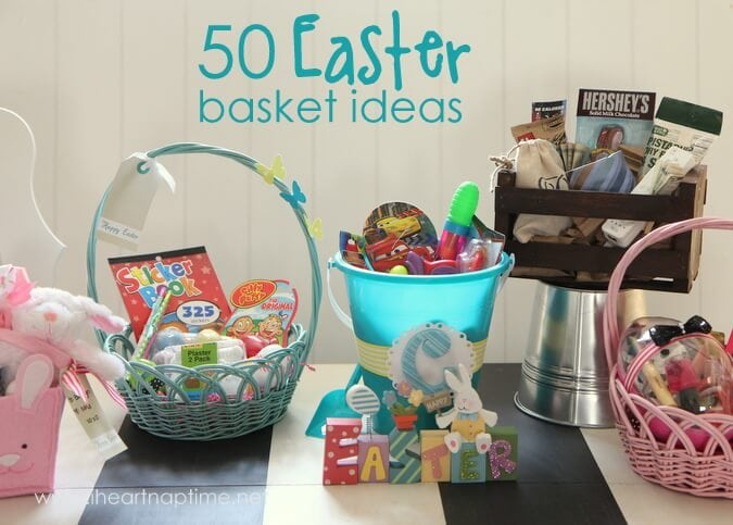 50 no candy easter basket ideas i heart nap time negle Choice Image