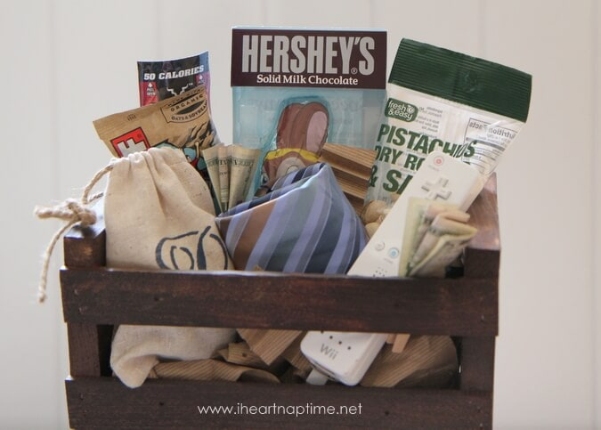 easter basket for men