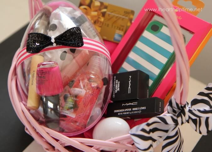 girls teen easter basket