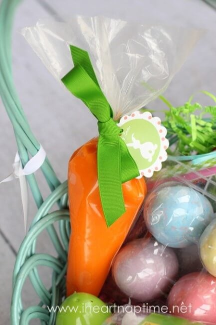 50 no candy easter basket ideas i heart nap time diy easter carrot negle Gallery