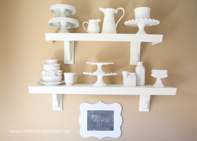 DIY decorating ideas for the kitchen I Heart Nap Time