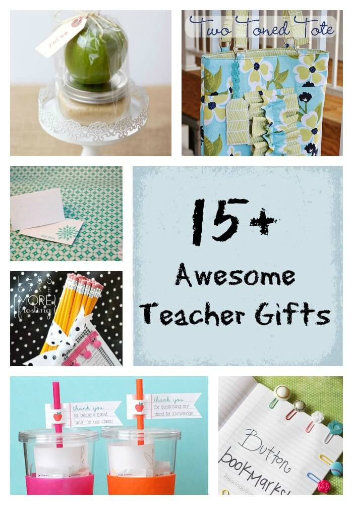 Classroom Ideas For Teachers ~ Awesome teacher gift ideas