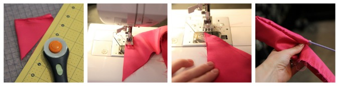 sew a fabric bow