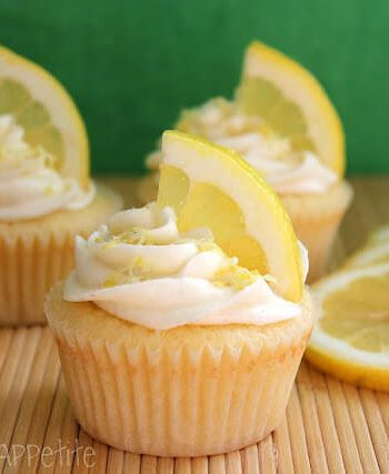 coconut lemon cupcakes