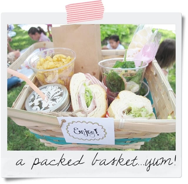 Ideas For A Picnic Basket Gift : Spring picnic ideas i heart nap time