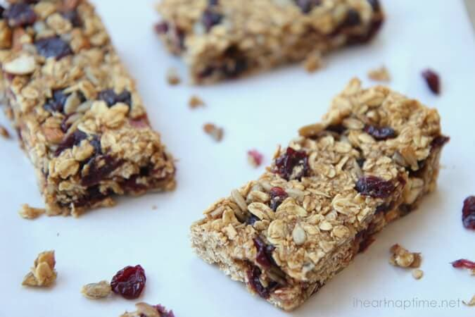 Homemade granola bars recipe i heart nap time homemade granola bars ccuart Image collections