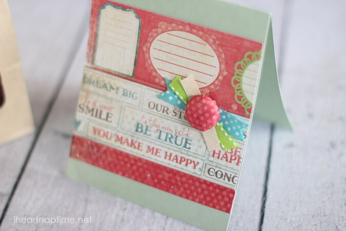 cute handmade card