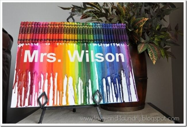 how to put words in crayon art